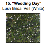 """Wedding Day"", which is Lush Bridal Veil (White)"