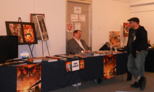 Jackson High graduate and comic book author Chad Lambert returns to Jackson for a book signing at the Markay.